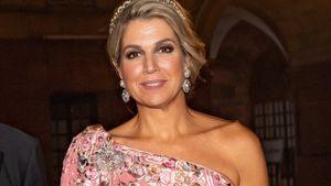 In Indien: Königin Máxima begeistert in rosafarbener Robe!
