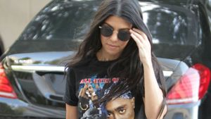Kourtney Kardashian in Los Angeles