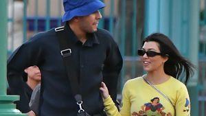 Im Disneyland: Kourtney und ihr Ex Younes auf Kuschelkurs!