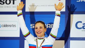 Radsportlerin des Jahres: Kristina Vogel mit Preis geehrt!