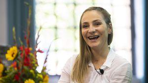 Positiv trotz Unfall: Kristina Vogel fühlt sich endlich frei
