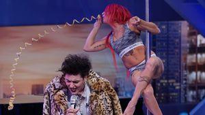 """Kurosh Bahrami und seine Schwester Mandy bei """"Deutschland sucht den Superstar"""" 2017"""