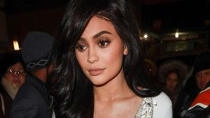 Kylie Jenner auf der New York Fashion Week