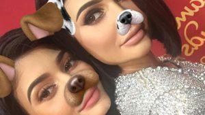 Kylie Jenner mit ihrer Figur bei Madame Tussauds