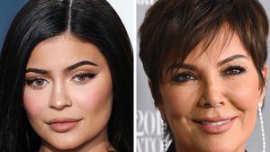 Schwangere Kylie Jenner shoppt mit Mama Kris im Supermarkt