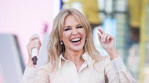Seltener Moment: Kylie Minogue schwärmt von ihrem Partner