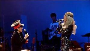 Lady GaGa und Yoko Ono
