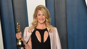 Laura Dern trug ihr Oscar-Kleid nun schon zum dritten Mal!