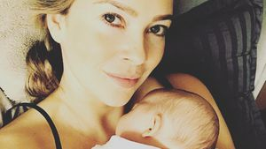 Laura Osswald mit Baby Karline Ruby