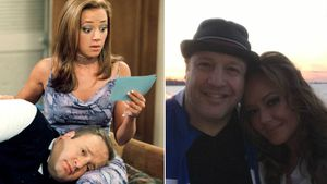 Leah Remini und Kevin James
