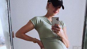 Mega-Babybauch! Geht's bei schwangerer Lena Gercke bald los?