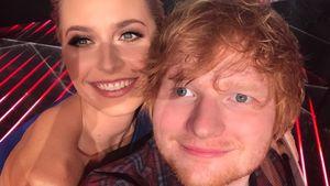 """Fangirl-Moment"": Lena Gercke macht Selfie mit Ed Sheeran!"