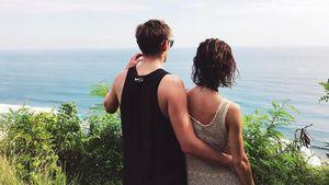 Lena Meyer-Landrut mit Freund Max im Urlaub