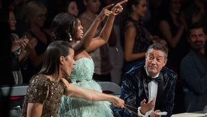 "Jorge Gonzalez, Motsi Mabuse und Joach Llambi bei ""Let's Dance"" 2017"