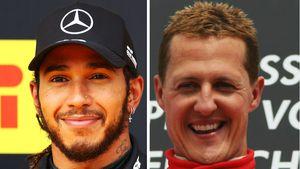 Lewis Hamilton hat Schumachers Podiumsplatz-Rekord geknackt