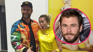 Liam Hemsworth, Miley Cyrus und Chris Hemsworth