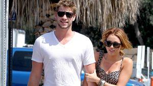 Liam Hemsworth und Miley Cyrus Arm in Arm in Los Angeles im Jahr 2010