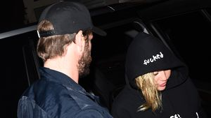 Endlich wieder Couple-Pics: Miley & Liam gemeinsam bei Gig