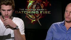 Liam Hemsworth und Woody Harrelson