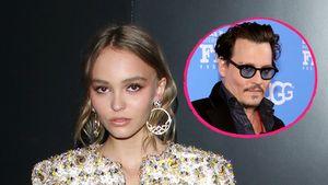 Lily-Rose Depp und Johnny Depp