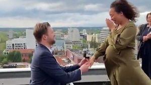 Video zeigt: So romantisch war Linda Reschkes Heiratsantrag!