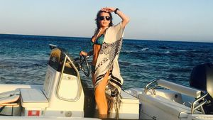 Trotz Baby an Bord? Lindsay Lohan rauchend in Italien