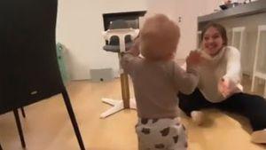 Bibi megastolz: Hier macht Sohn Lio seine ersten Schritte!