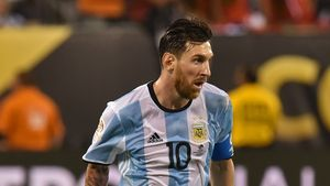 Lionel Messi beim Copa America 2016