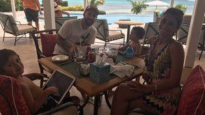 Lionel Messi & Antonella: Flitterwochen mit ihren süßen Kids