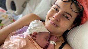 30 Stunden Wehen: Lisa Cimorelli ist erstmals Mama geworden
