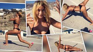 Lisa G. im Urlaub auf Mykonos