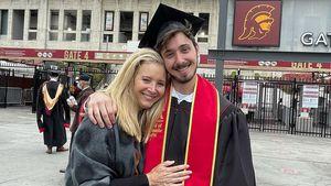Bei Abschlussfeier ihres Sohnes: Lisa Kudrow kommen Tränen