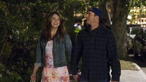 "Lauren Graham & Scott Patterson am ""Gilmore Girls""-Set"