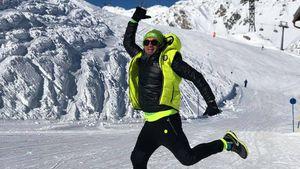 Auf dem Gipfel: Lucas Cordalis zuversichtlich vor Wettkampf