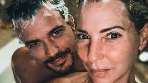 Giulia Siegel und Ludwig teilen Pärchen-Selfie aus der Wanne