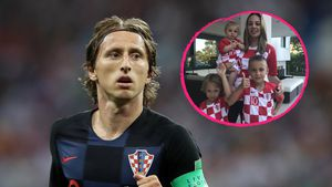 Kroatien-Halbfinale: Süßer Family-Support für Kapitän Modrić
