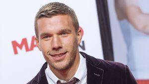 """Lukas Podolski bei der Premiere von """"Macho Man"""" in Köln"""