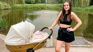 """""""Ex on the Beach""""-Star Maddi Henderson schwärmt von Baby"""