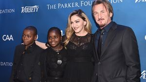 Madonna, Sean Penn, David Banda Mwale und Mercy James