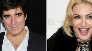 Madonna und David Copperfield
