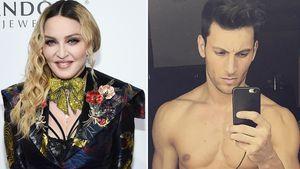 Madonna und Kevin Sampaio