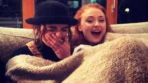 Sophie Turner und Maisie Williams