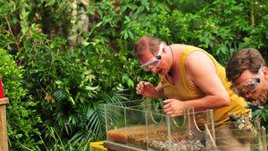 Mallorca-Jens Büchner in der ersten Dschungelprüfung 2017