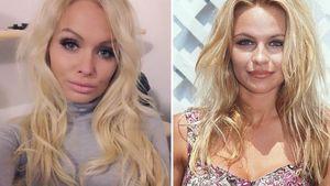 Promi-Twins: Mandy Lange sieht aus wie junge Pamela Anderson