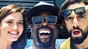Mandy Moore, Sterling Brown und Milo Ventimiglia