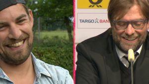 Jürgen Klopp und Manuel Behle