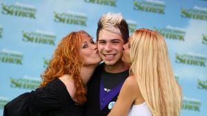 DSDS-Manuel: Neue Frisur bei Shrek-Premiere