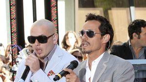 Hot! Marc Anthony, Pitbull & ein paar sexy Ladys!