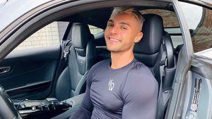 Wie Serkan: Auch Marcellino trägt seine Haare jetzt blond