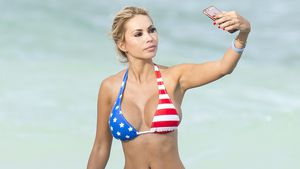 Maria Hering am Strand in Miami Beach